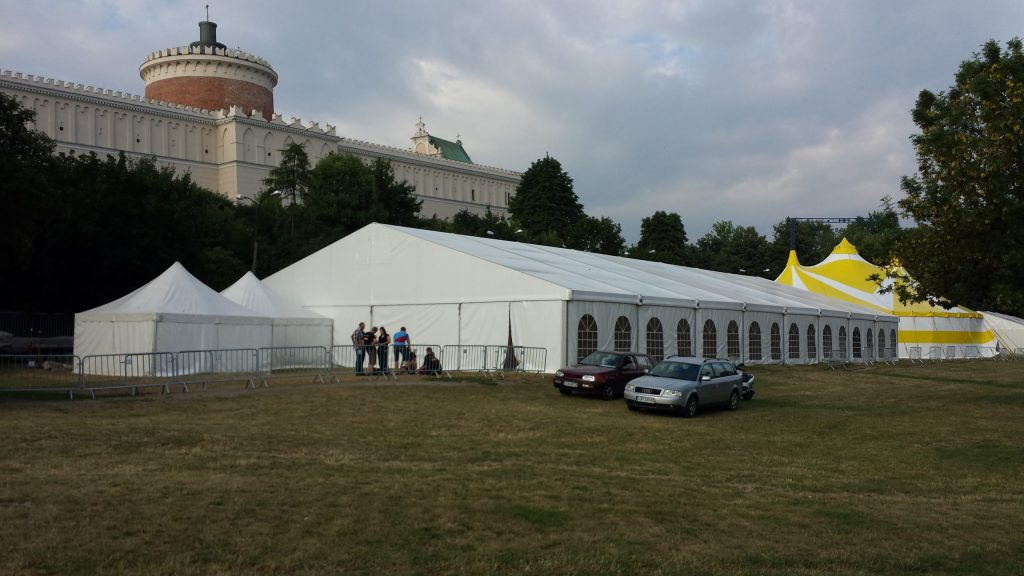 wynajem namiotów Lublin